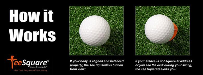 Product Spotlight Tee Square Swing Training Aid The