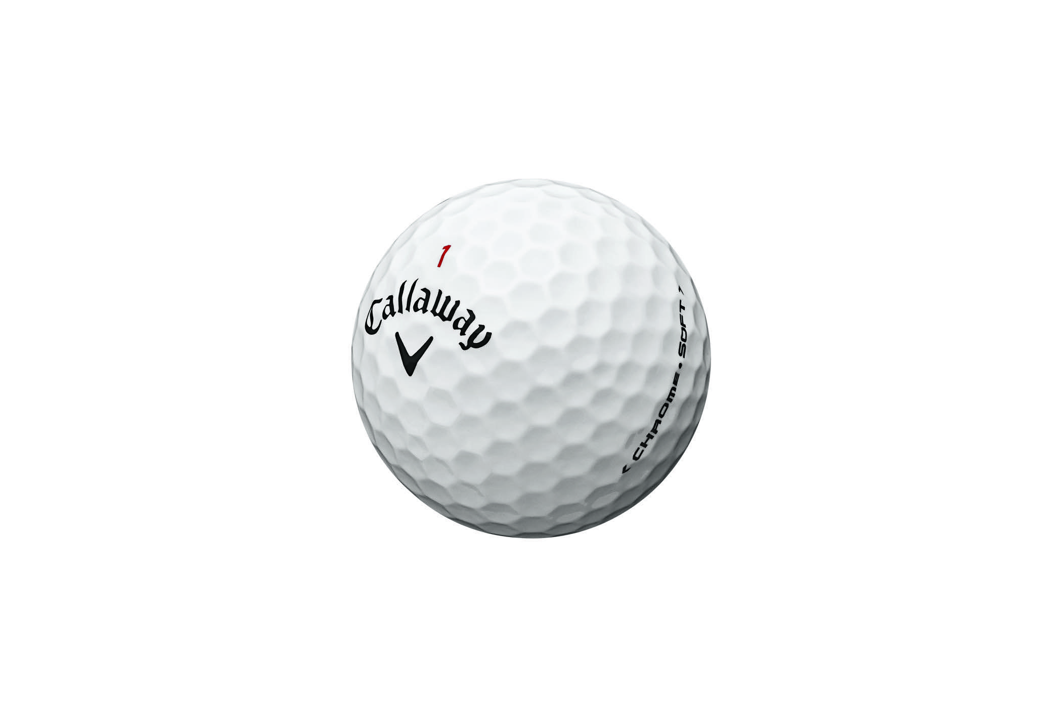 Chrome Soft golf ball