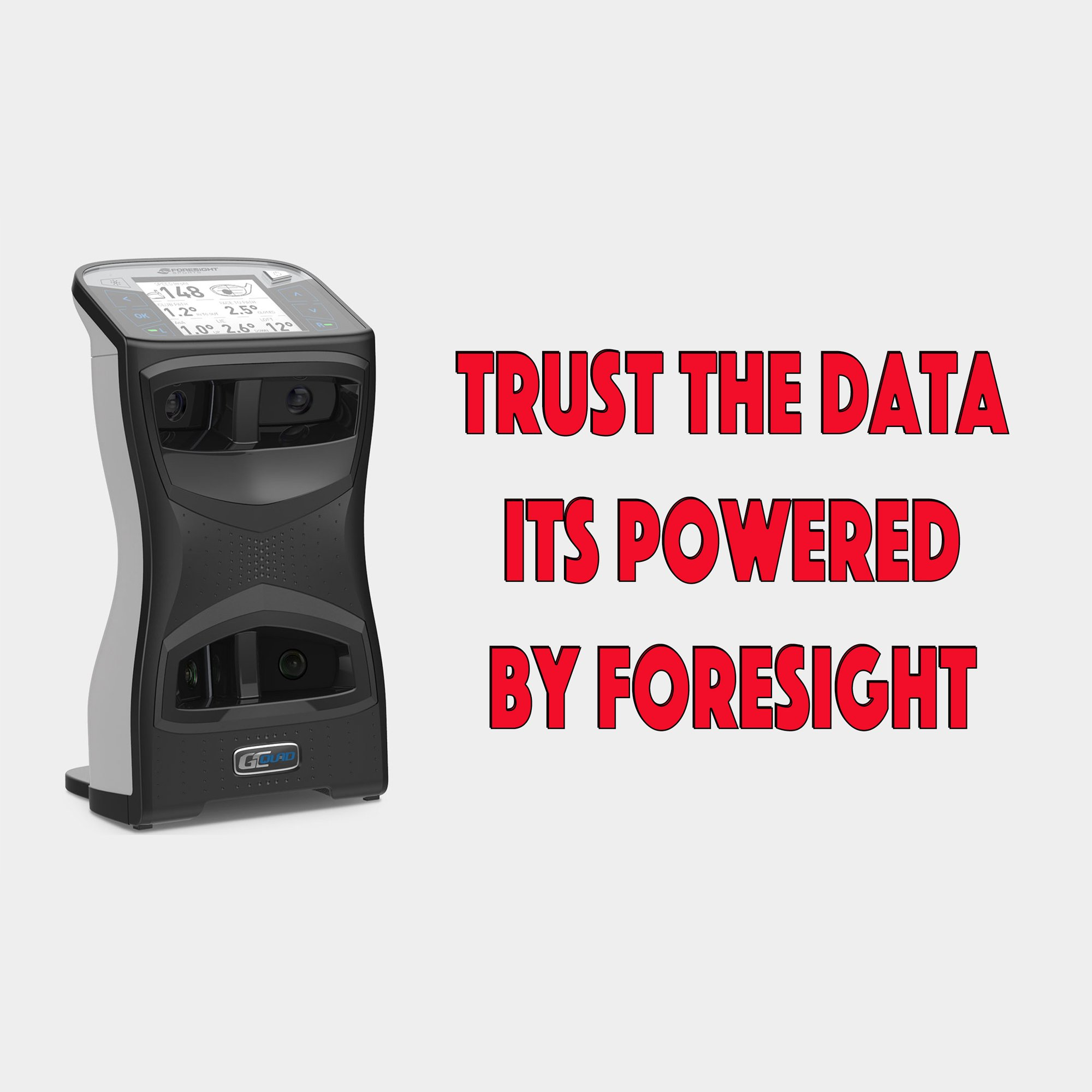 Trust the Data, It's Powered by Foresight