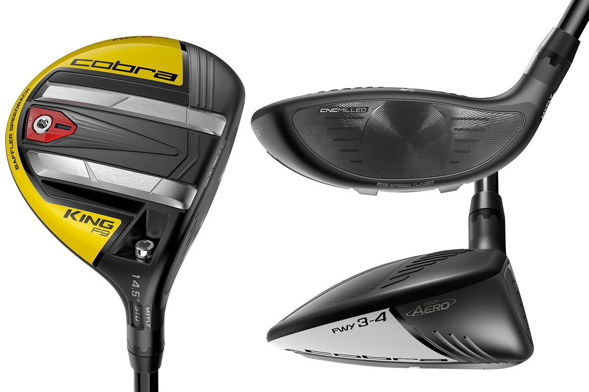 Cobra KING F9 SpeedBack Driver and Fairway Woods - The