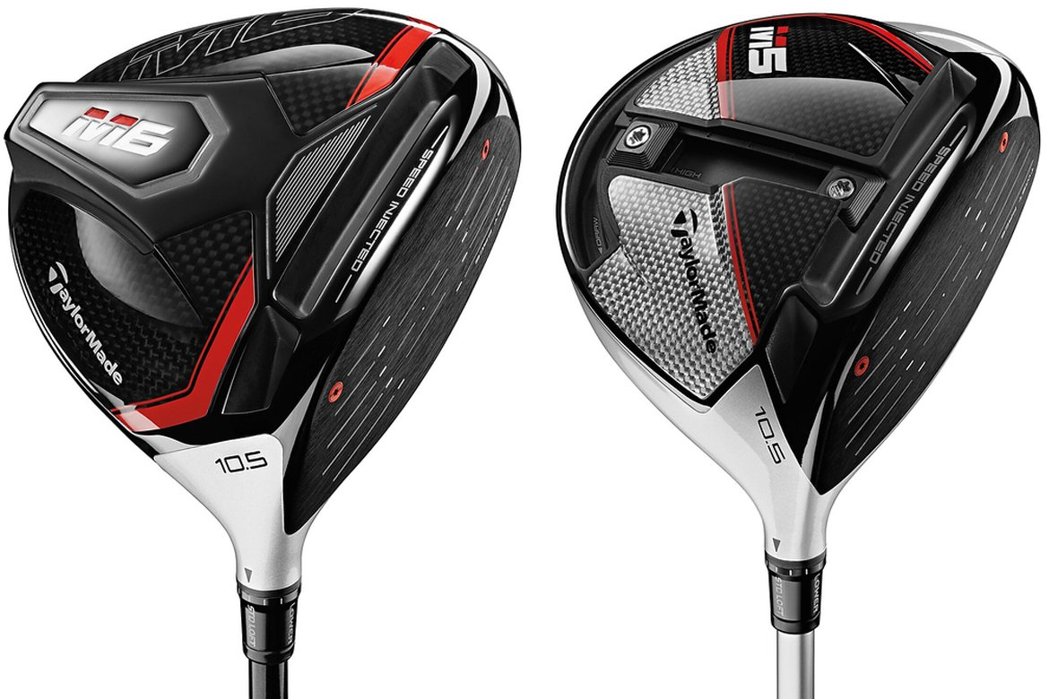 taylormade m5 and m6 drivers