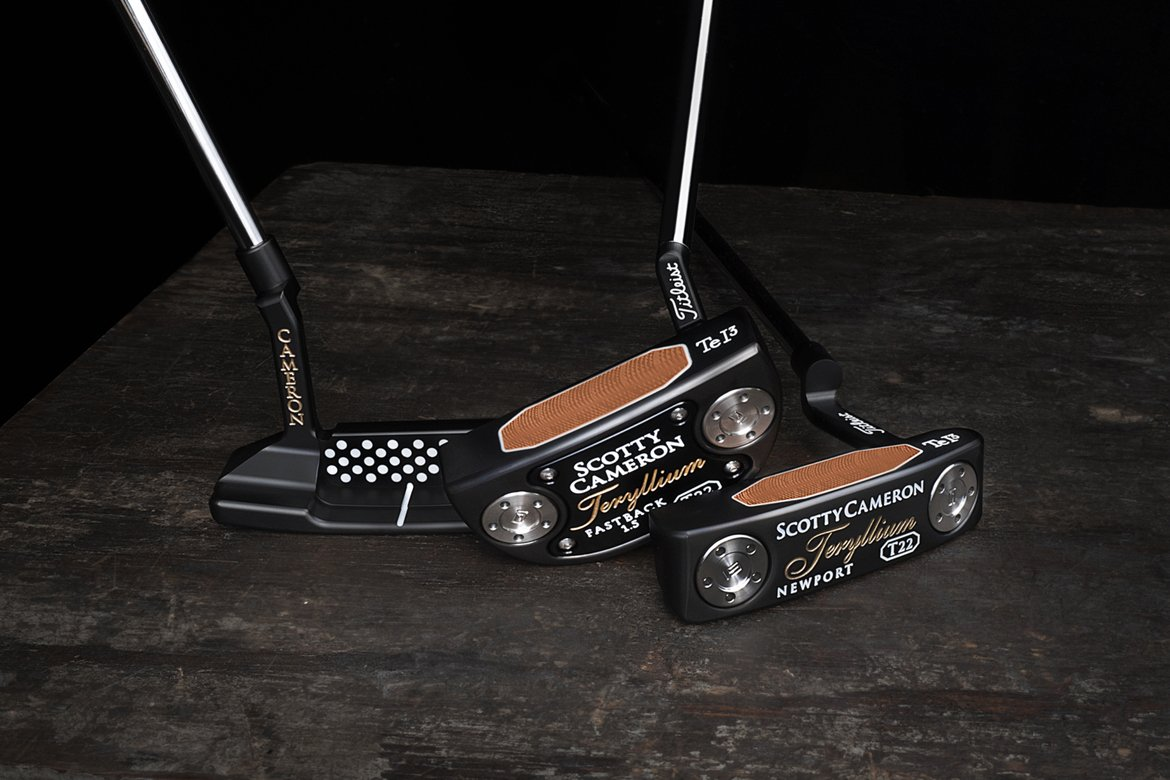 First Look: Scotty Cameron 2019 Teryllium T22 Putters