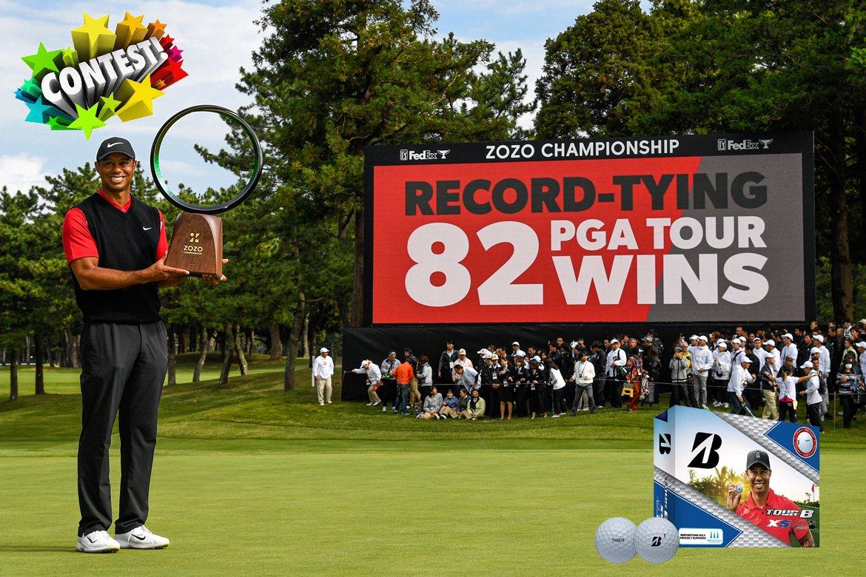 Contest: Bridgestone Celebrates Tiger Woods 82nd Victory