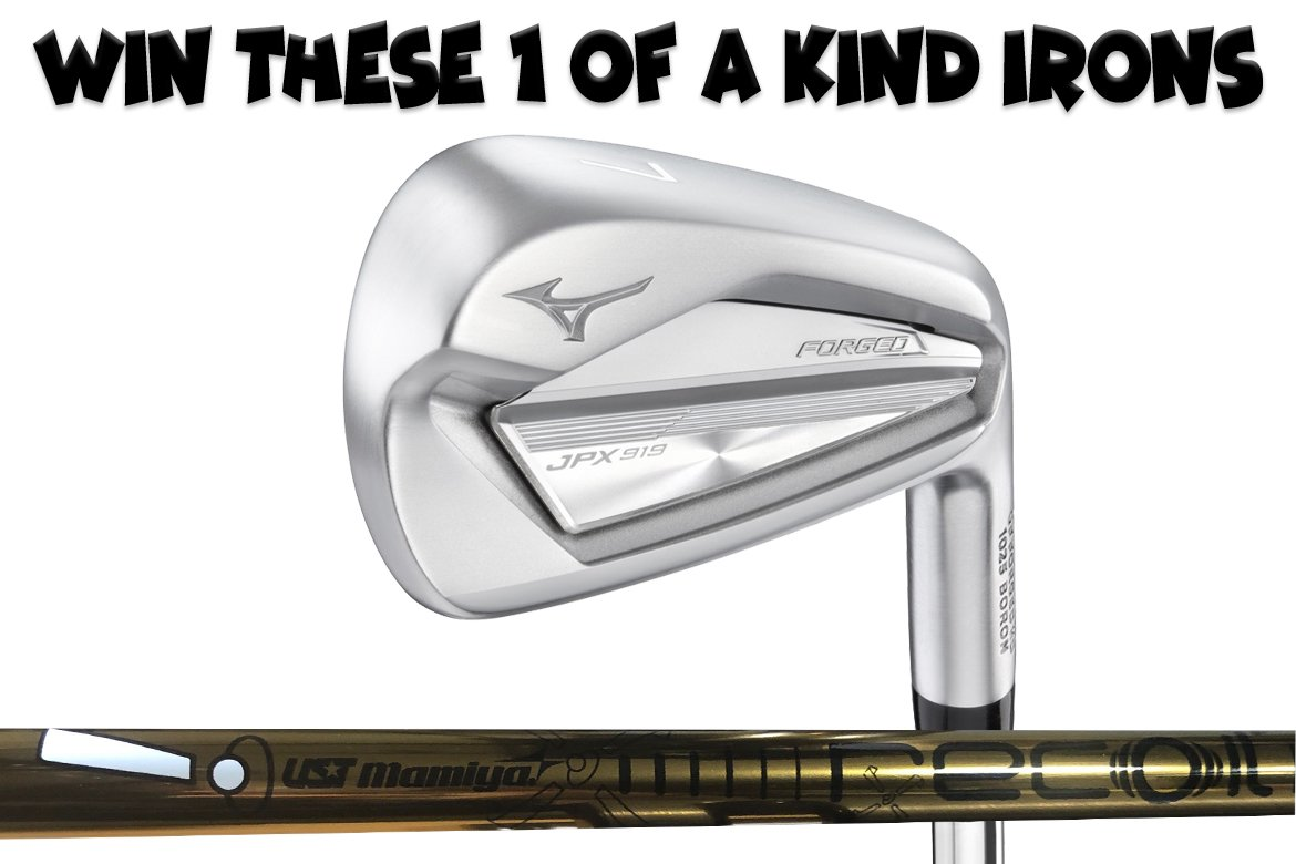 Day 2 of 2019 THP Holiday Cheer – Win 1 of a Kind Mizuno JPX-919 Irons with UST Mamiya Recoil Proto Shafts