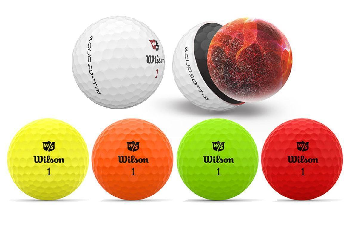 First Look: Wilson Staff Duo Soft+ and Duo Soft+ Optix Golf Balls