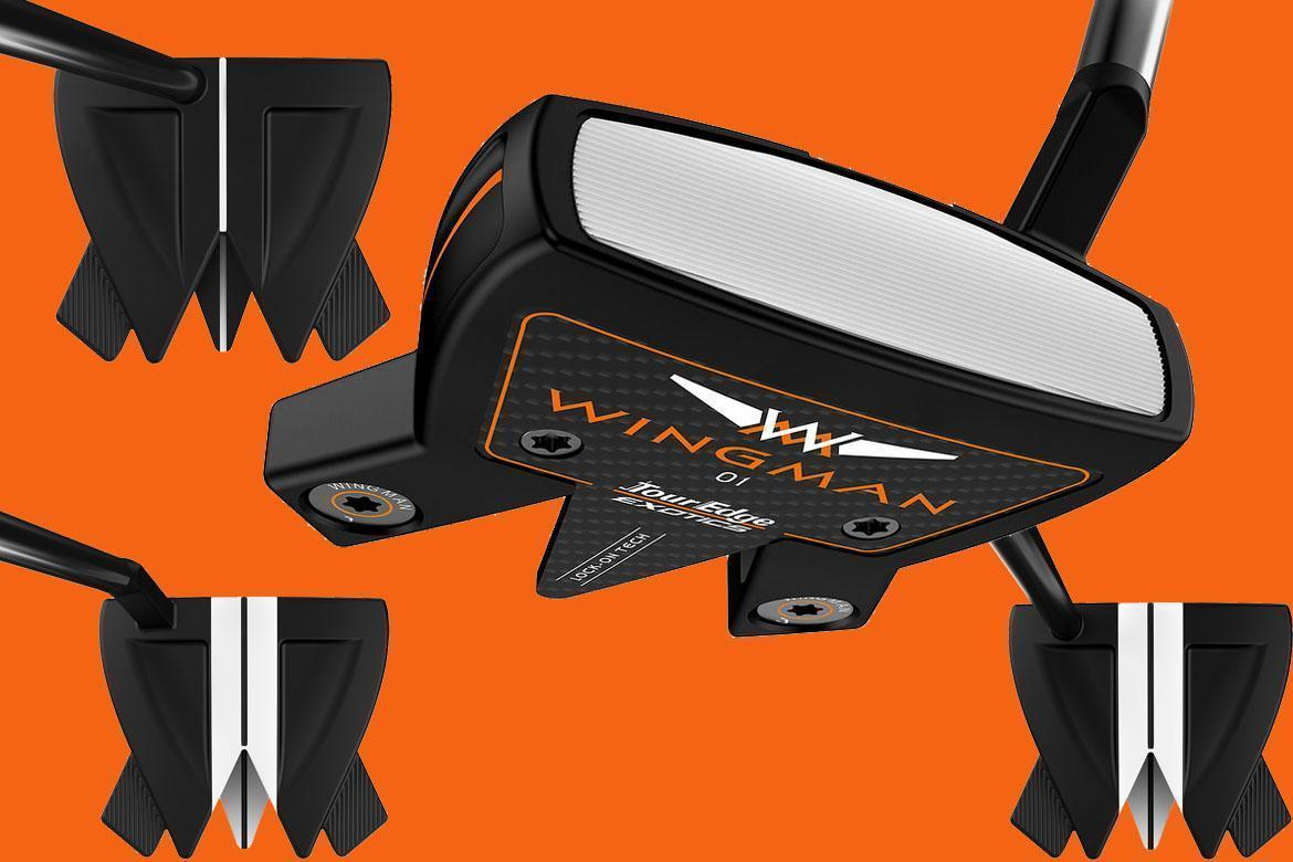First Look: Tour Edge Exotics Wingman Putters