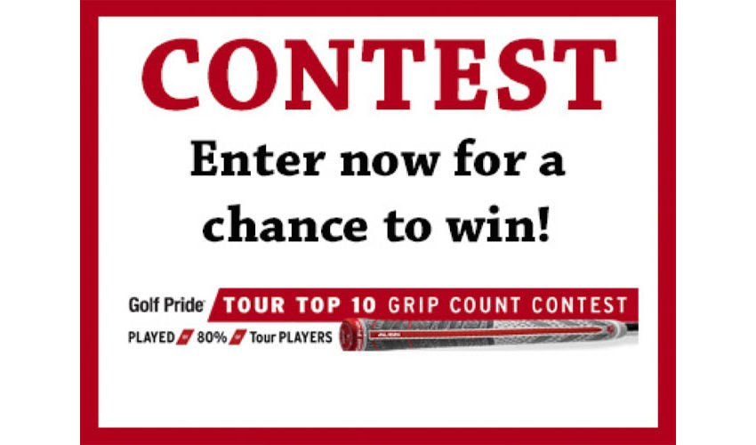 2020 Players Championship Contest with Golf Pride Grips