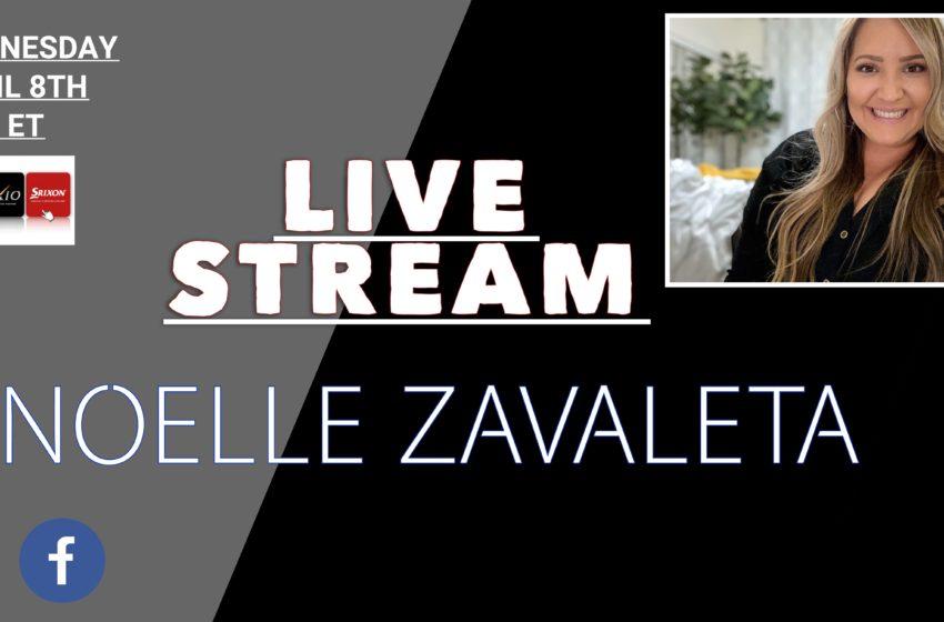 Live Stream Today with Noelle Zavaleta from Srixon