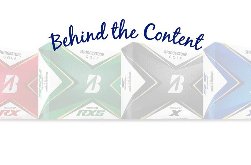 Behind The Content: Bridgestone Golf