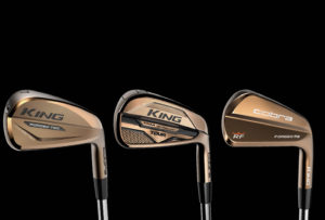 The Cobra Copper Series family of irons