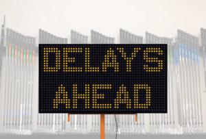 delays in golf